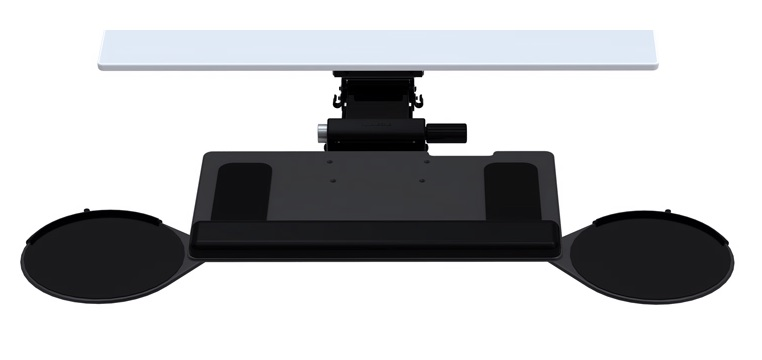 HUMANSCALE 6G KEYBOARD 900PLATFORM DUAL/MOUSE 11T