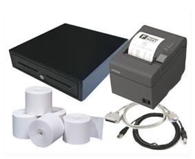 BUNDLE - EPSON TMT82 SER/USB + EC410 + RO8080T