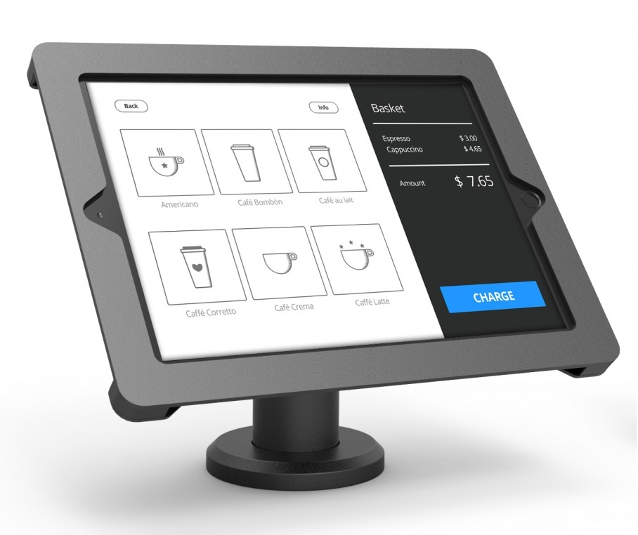 COMPULOCKS AXIS KIOSK WITH 10CM STAND