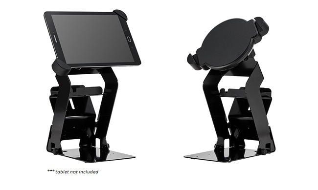 BIXOLON RTS-Q300 TABLET STAND BLACK FOR Q300