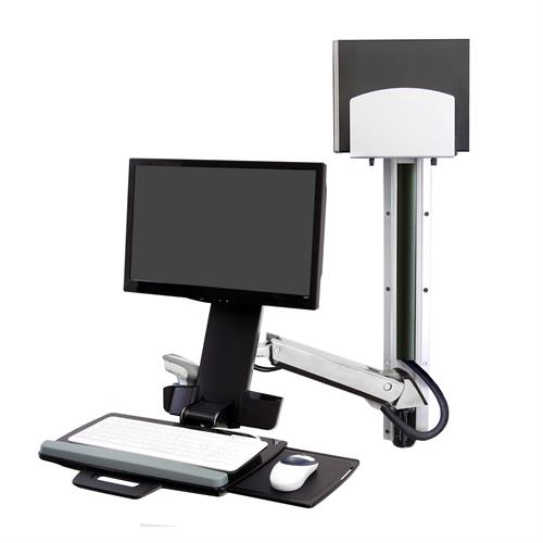 ERGOTRON SIT-STAND STYLEVIEW COMBO SYSTEM POLISHED