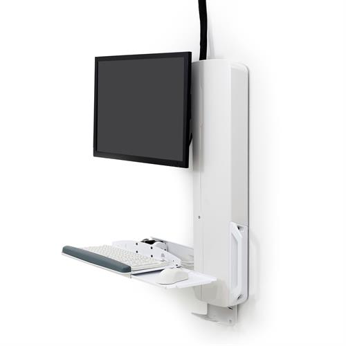 ERGOTRON SIT-STAND STYLEVIEW VL HIGH TRAFFIC WHITE