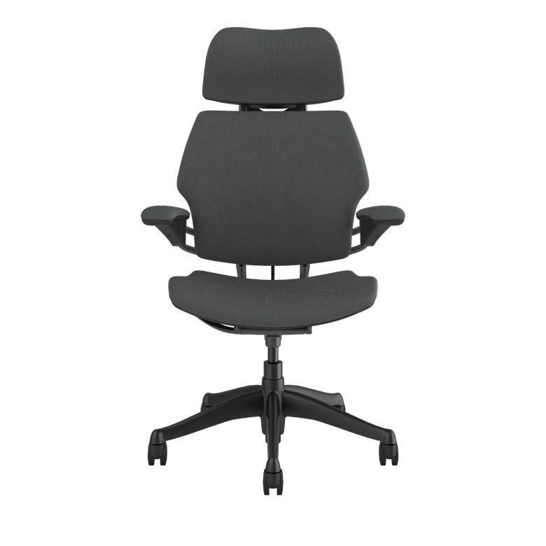 HUMANSCALE CHAIR FREEDOM HR ARMS GRAP/OXYGEN