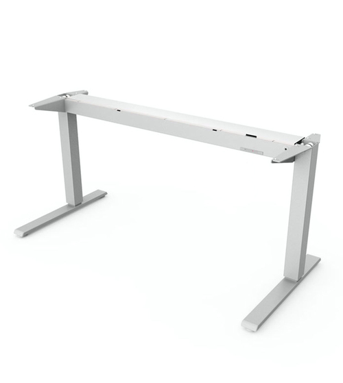 HUMANSCALE FLOAT TABLE BASE ONLY 1600+ 800 SILVER