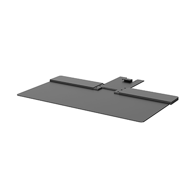 Freestanding Base in Black to suit Humanscale Quickstand