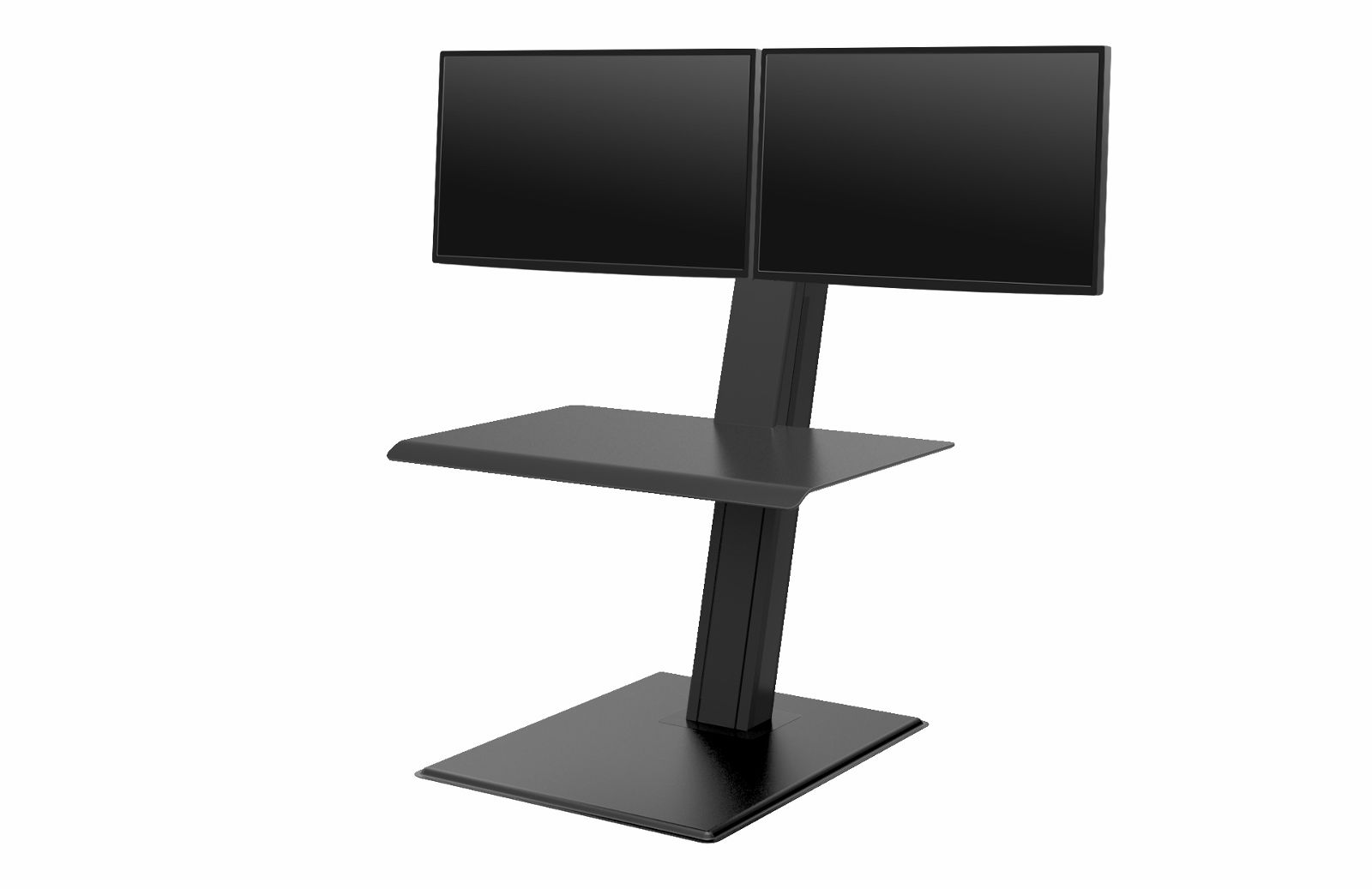 HUMANSCALE QUICKSTAND ECO DUAL BLK