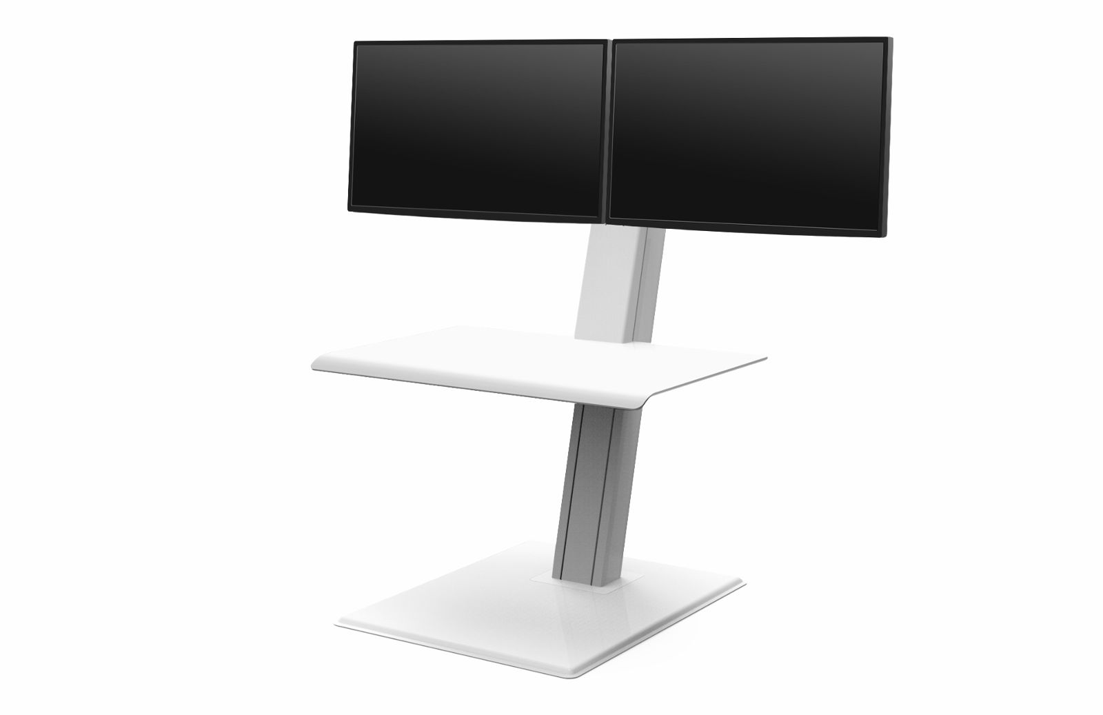 HUMANSCALE QUICKSTAND ECO DUAL  WHI