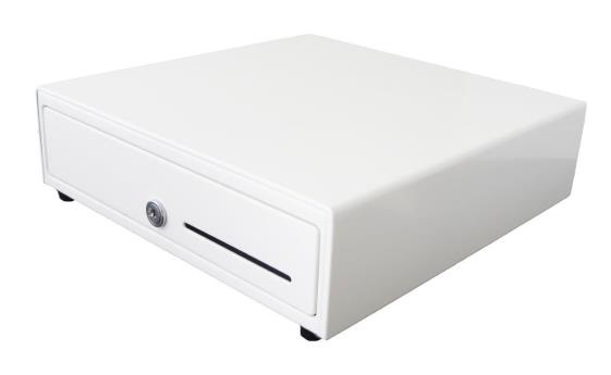 HP CASH DRAWER COMPACT ENGAGE ONE 5N/8C 24V WHI