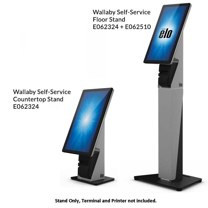 ELO SELF SERVICE STAND DESKTOP WALLABY