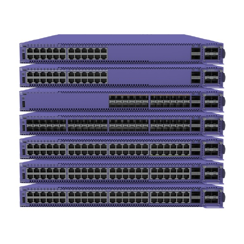 Extreme Networks Switch 5520 Series, 48 Ports 1 GB Models, 802.3BT 90W, 12 Ports 10 GB Models MR