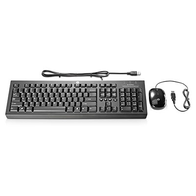 HP KEYBOARD AND MOUSE BUNDLE USB H6L29AA