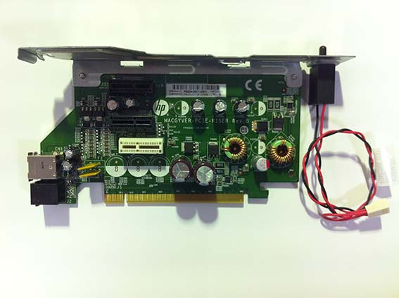 HP CARD PCI-E RISER X1 FOR RP5800