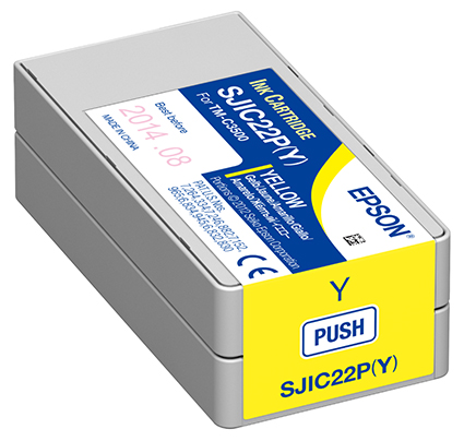 EPSON INK CARTRIDGE TMC3500 YELLOW