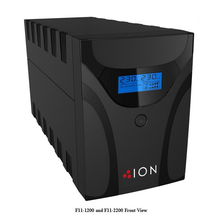 ION UPS F11 1200VA LINE INTERACTIVE