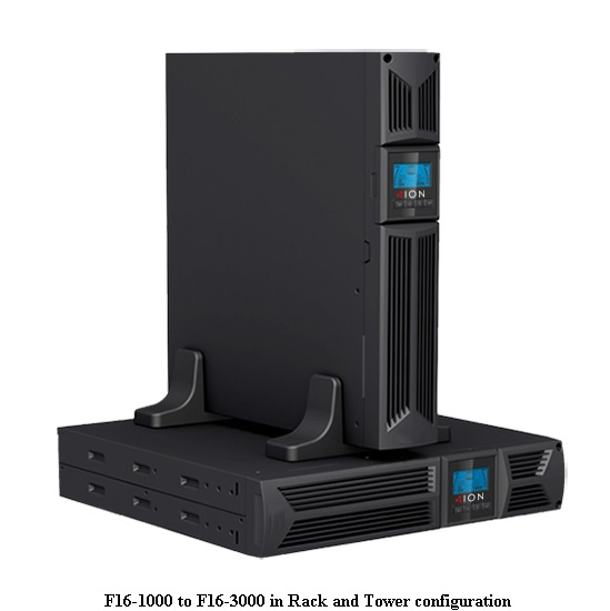 ION UPS F16 1000VA/900W LINE INTERACTIVE