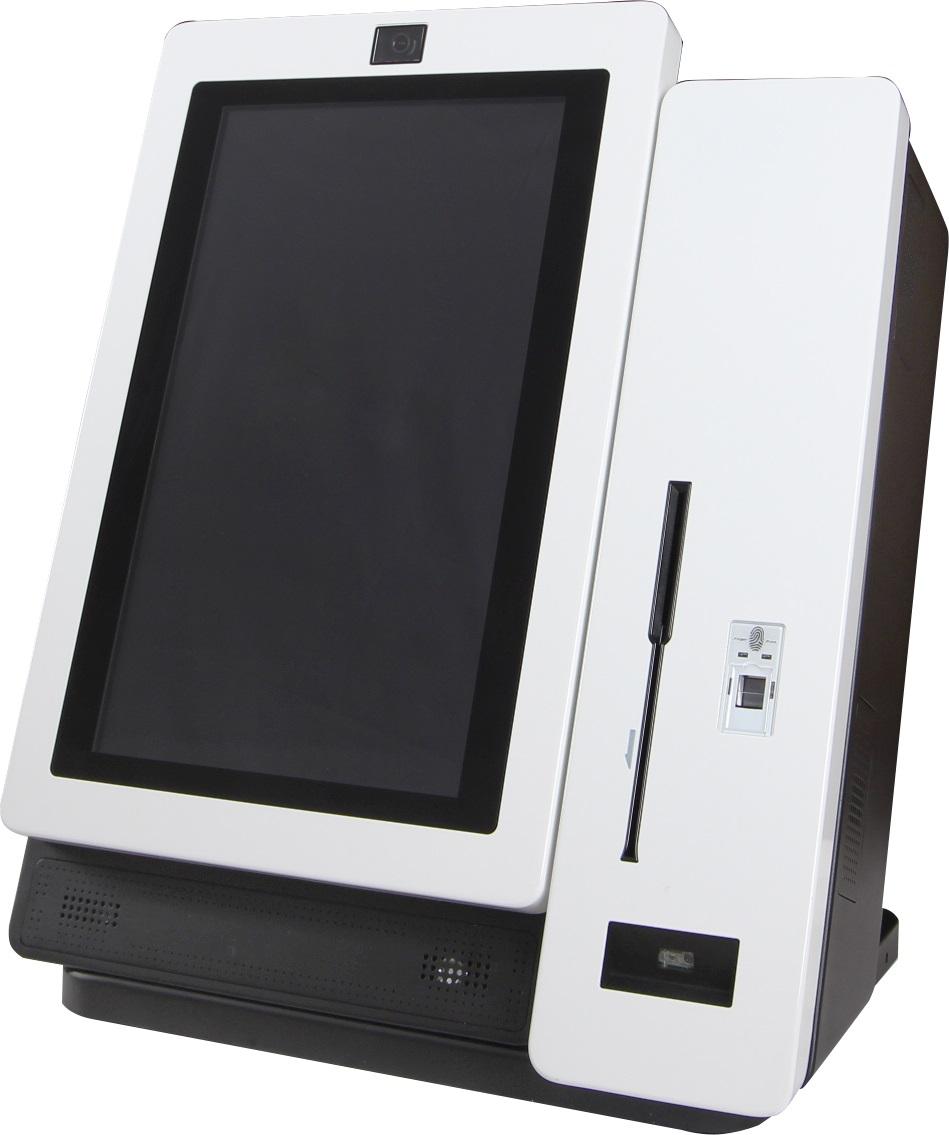 FEC KIOSK MKII I3 4/128 22/P 2D/CAM/PRT W10 DESK