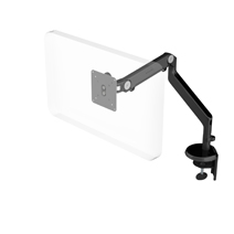 HUMANSCALE MON ARM M2 LIGHT CLAMP BLK IND
