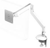 HUMANSCALE CLAMP MOUNT FOR M2 ARM WHI