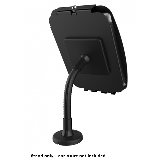 COMPULOCKS FLEXIBLE ARM STAND BLK FOR TABLET KIOSK