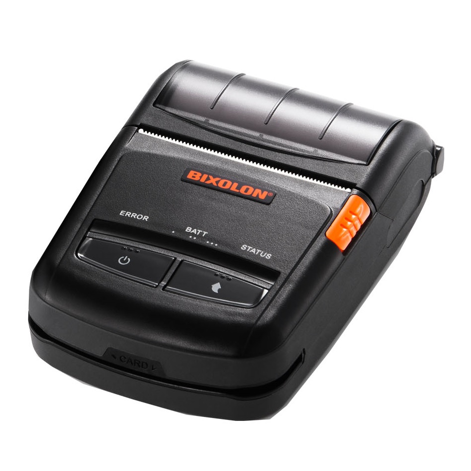 BIXOLON MOBILE PRINTER SPPR210 BT 203DPI MSR/SCR