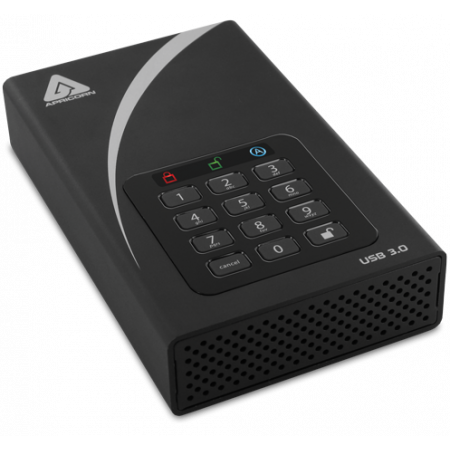 APRICORN SECURE STORAGE AEGIS PADLOCK DT 10TB FIPS
