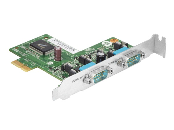 HP CARD POWERED RS232 DB9 X 2 FOR RP5800/RP5810